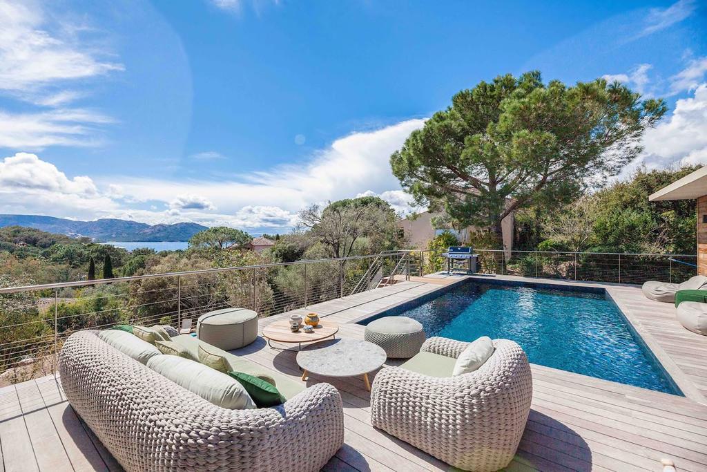 Location villa en corse avec piscine priv e et vue sur mer Location villa en corse avec piscine